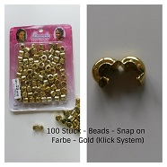 Beads gold
